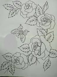 Grand Sewing Embroidery Designs At Home Ideas. Beauteous Finished Sewing Embroidery Designs At Home Ideas. Hand Embroidery Patterns, Ribbon Embroidery, Embroidery Stitches, Fabric Paint Designs, Flower Coloring Pages, Fabric Painting, Art Drawings, Sketches, Artwork