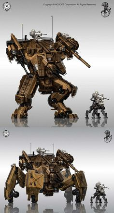 walker tanks with different leg configs will upload the tank mode later thanks for looking     Copyright     ©     NCSOFT Corpo...