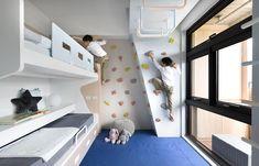 多元最強117呎兒童房,演活親子間的幸福生活 Loft, Toddler Bed, Interior Design, Bedroom, Children, Furniture, Home Decor, Child Bed, Nest Design