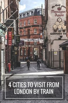 City Breaks by train from London | UK city guide | Places to visit in England | Things to do in the UK | Staycations and holidays in England