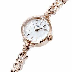 Fancy Watches, Art Deco Watch, Bracelet Watch, Bracelets, Fashion, Moda, Stylish Watches, Fashion Styles, Bracelet