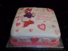 daisy duck full cake idea