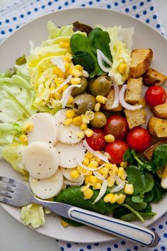 Salad Recipe: Hearts of Palm, Corn, Tomatoes & Watercress Salad ...