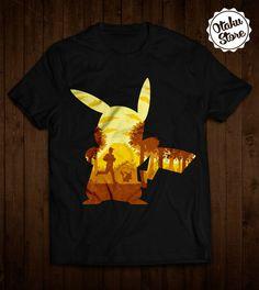 """Anime """"Pokemon"""" t-shirt. Anime DTG print."""