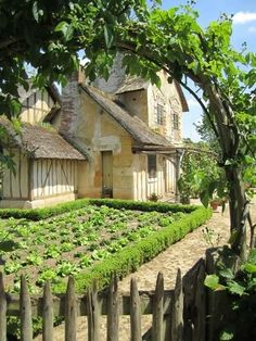 The Hameau de la Reine ( The Queen's Hamlet) at Versaille in France, ©misskray. Posted in Un Joyeux Anniversaire à Versailles