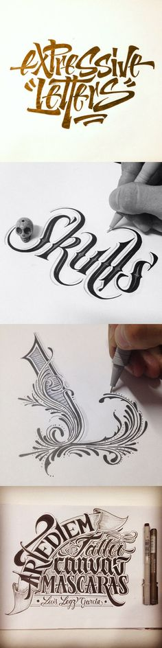 Handlettering and calligraphy by  Luis LEGZ Garcia      #Calligraphy  #Typography