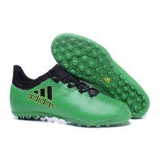 size 40 db71a 46b16 Baratas Adidas X 17 3 TF Botas De Futbol Verde Negro Adidas Soccer Shoes,  Football