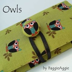 Pixies Place: Lovely Handmade Owls!!