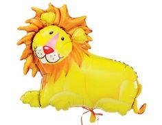 Mylar Balloon Lion Decoration #CircusParty