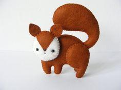 PDF pattern  Woodland creatures  fox squirrel wolf bear