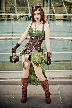 Steampunk Poisin Ivy