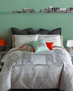 Blissliving Home 'London Skyline' Duvet Set