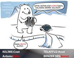 Coat Türkçe anlamı nedir?