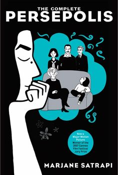 Persepolis by Marjane Satrapi. Graphic Novel. Coming-of-age story of an outspoken young Iranian girl that begins during the Islamic Revolution.