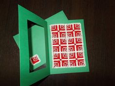 Red and Green Cross Stitch Pattern by CamisTheCrossStitch on Etsy