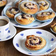 Himmelsk marengskake | Det søte liv Muffins, Breakfast, Food, Morning Coffee, Muffin, Meals, Yemek, Eten, Cupcakes