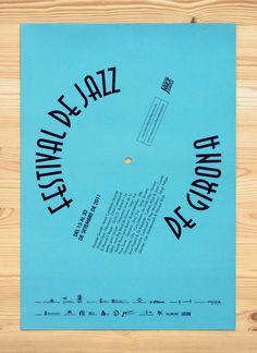 Bronce Laus 2012 | Cartel Título: Festival de Jazz de Girona |  Autor: Enserio |  Cliente: Ajuntament de Girona i Alter Sinergies