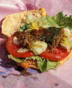 World's Strangest Street Food: Bake n' Shark.  From the article The World's Strangest Street Food