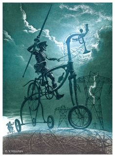 don quixote art - Google Search