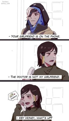 Overwatch Comics,Overwatch,Blizzard,Blizzard Entertainment,фэндомы,Ana Amari,Pharah,Mercy (Overwatch),PharMercy,Overwatch Other