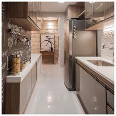 Decorating Kitchen *** Improvements That Increase Safety In Your Home -- Thanks for viewing our photograph. Apartment Kitchen, Apartment Design, Kitchen Interior, Kitchen Decor, Decorating Kitchen, Exterior Wall Cladding, Cuisines Design, Interior Design Tips, Exterior Design