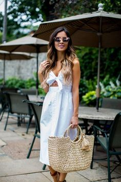 Topshop Tie Front Dress, Quay Quay Mirrored Sunglasses, Marc Fisher Wedges