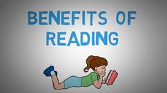 Why You Should Read Books - The Benefits of Reading More (animated) Reading Benefits, Ted Talks, English Grammar, Read Books, Read More, Phonics, Health Benefits, Vocabulary, Literacy