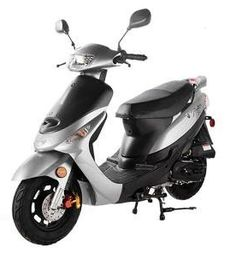 From Family Powersport:You'll love the fun Taotao Pony motor scooter's smooth handling and unbelievable fuel economy! Electric Moped Scooter, 150cc Scooter, Electric Mopeds, Scooters For Sale, Motor Scooters, Triumph Motorcycles, Ducati, Chopper, Mopar