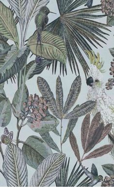 Hertex Fabrics is s fabric supplier of fabrics for upholstery and interior design Interior Wallpaper, Home Wallpaper, Wallpaper Ideas, Hertex Fabrics, Trendy Wallpaper, Contemporary Wallpaper, British Colonial, Tropical Vibes, Inspiration Wall