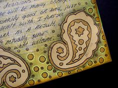 Ingrid Dijkers: A few journal pages