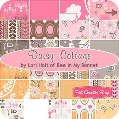 """Daisy Cottage 10"""" Stacker Lori Holt of Bee in My Bonnet for Riley Blake Designs"""