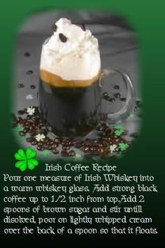 Irish Coffee Photo:  This Photo was uploaded by bluuestarzz. Find other Irish Coffee pictures and photos or upload your own with Photobucket free image a...