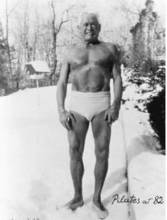 Joseph Pilates at 82 - His techniques have changed my body and mind.  GOOD STUFF 4 LIFE!!!