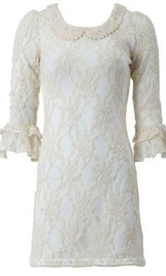 Amazon.com: AxParis Vintage Lace Dress: Clothing