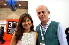 """Eccomi al Salone del Libro di Torino 2015 con Saverio Simonelli, autore di """"Berlino. In fuga dal muro"""" (Effatà editrice), libro protagonista della rubrica 2VociX1Libro di maggio. http://leultime20.it/berlino-in-fuga-dal-muro-di-saverio-simonelli/"""