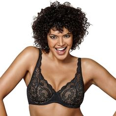 9c0785ddea0ba Plus Size Playtex Bras  Love My Curves Beautiful Lift Lightly Lined  Full-Figure Underwire Bra US4514