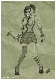 Harley Quinn Redesenhado por sketcheronline