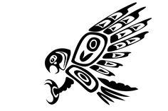 Simple Tribal Animal Tattoo