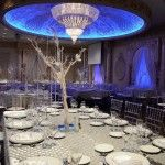 Paradise Banquet Hall Wedding Classic Room_white, blue and silver