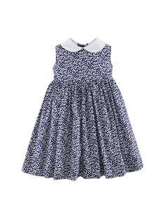 Oscar de la Renta / Floral Pinafore Dress