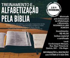 """alfabetização pela biblia #criação #alfabetização #biblia #treinamento  """"Alfabetização pela Bíblia é uma ação missionária tendo a Bíblia como cartilha. Metodologia e didática criado pelos educadores Gilberto e Maria Stevão.  Tem como objetivo erradicar o analfabetismo no Brasil."""""""