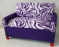 Hey, I found this really awesome Etsy listing at http://www.etsy.com/listing/151552282/purple-zebra-toddler-couches
