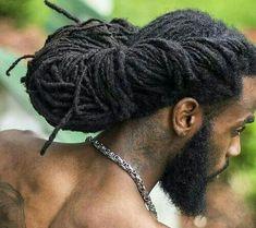 Mens Dreadlock Styles, Dreads Styles, Curly Hair Styles, Natural Hair Styles, Dreadlocks Updo, Mens Dreads, Dreadlock Hairstyles For Men, Braided Hairstyles, Black Hairstyles