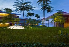 Capella Singapore hotel on Sentosa Island
