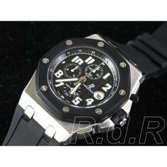 32e8be629d3 Replica Audemars Piguet Royal Oak Offshore Caixa de aço inoxidável com  holograma marca Rolex.