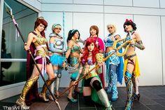 battle princess cosplay | disney-princess-battle-armor-cosplay1