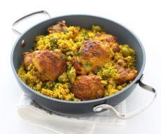 Kuřecí kuskus Garam Masala, Tandoori Chicken, Quinoa, Cauliflower, Food And Drink, Menu, Cooking Recipes, Pasta, Treats