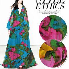 """1M rouge//noir floral leaf print couleur lycra stretch pour tissu large 58/"""""""