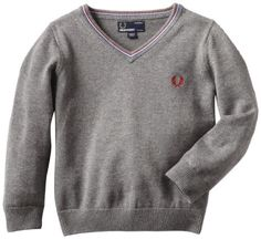 Fred Perry Boys 2-7 Kids Fine Tipped V-Neck Sweater, « Impulse Clothes
