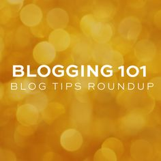 Blogging Tips Roundup (great round up of tips for newbies)   static romance